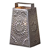 Cheese Grater Tabletop Accent Light