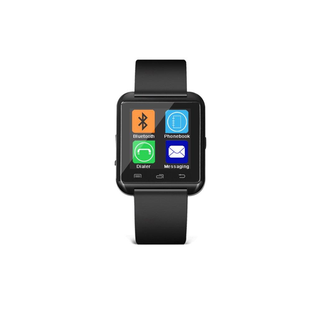 U8 Bluetooth Reloj Inteligente para Sistema Android IOS iPhone Samsung Galaxy HTC Sony etc (Negro): Amazon.es: Electrónica
