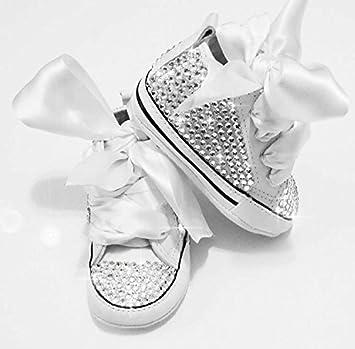 7de70b5f51329 Luxus Baby Strass Schuhe mit Strasssteine