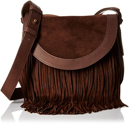 FRYE Ray Fringe Saddle, Dark Brown by FRYE