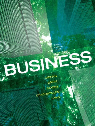 Business, Eighth Canadian Edition with MyBusinessLab (8th Edition)
