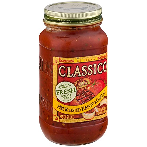 Classico Fire Roasted Tomato and Garlic Sauce, 24 Ounce