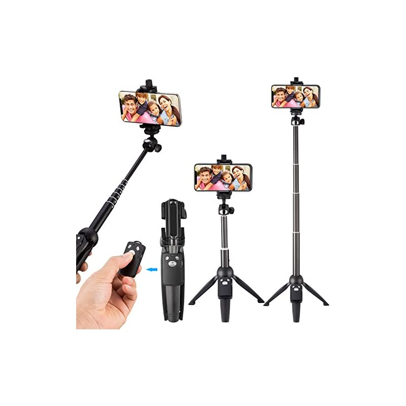 Eocean 40-Inch Selfie Stick Tripod, Exte