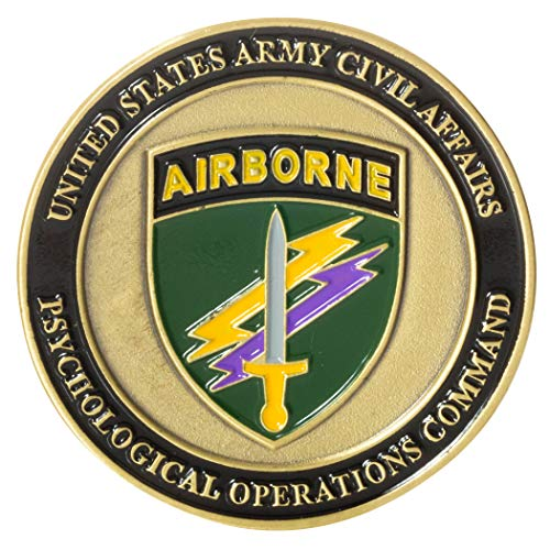 United States Army Civil Affairs and Psychological Operations Command (Airborne) Challenge Coin