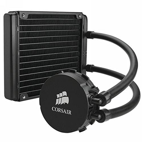 Corsair CW-9060013-WW Hydro Series Wasserkühler (H90 mit Kühlmittel, 140 mm Extreme Performance All-In-One CPU) schwarz