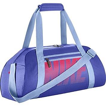 2f33cf6282a7e Nike Women Gym Club Duffel - Paramount Blue Aluminum (Racer Pink ...