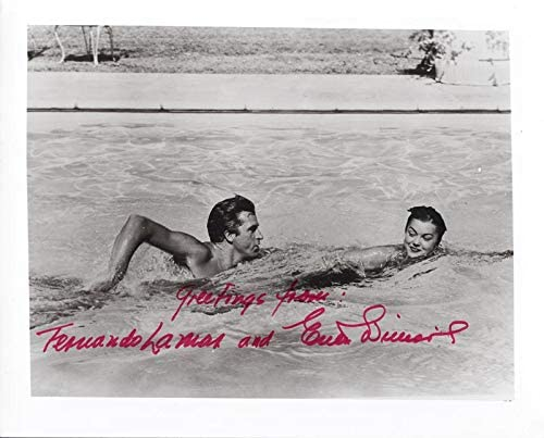 Esther Williams - Photograph Signed co-signed by Fernando Lamas at Amazon's  Entertainment Collectibles Store