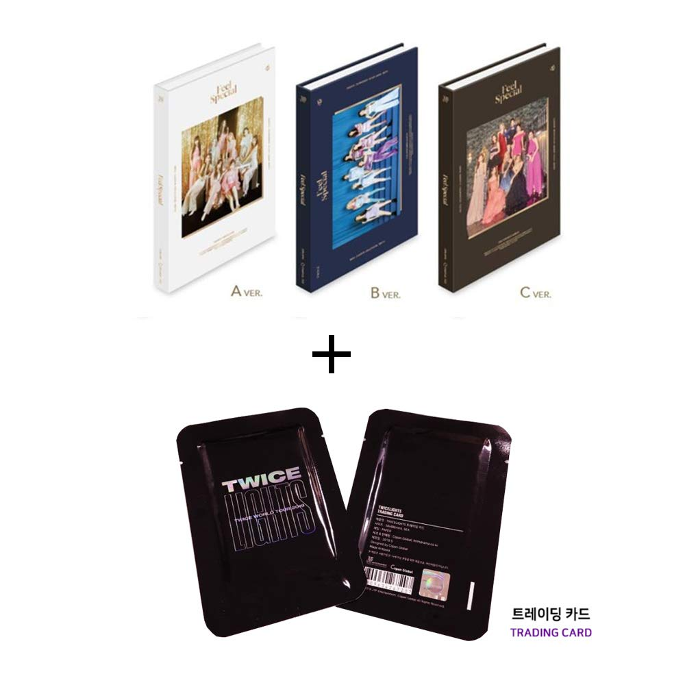 Twice 8th Mini Album Feel Special and Twicelights Trading Photo Card Set (Incl. Pre-Order Benefits, One Random Arcylic Photocard) (A Ver) by Twice