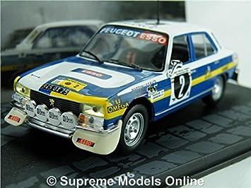 Peugeot 504 Ti Rally Model Car Nicolas 1 43 Scale 1976 Ixo K8967q