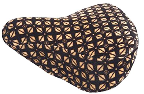 Cycling Plush Surface Seat Cover Fashion Seat Cover Brown by Black Temptation