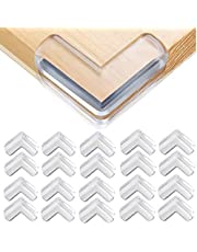 Safety Corner Protectors Guards, 20pcs Baby Proofing Safety Corner Clear Furniture Table Corner Protection, Kids Soft Table Corner Protectors for Child for Furniture Against Sharp Corners