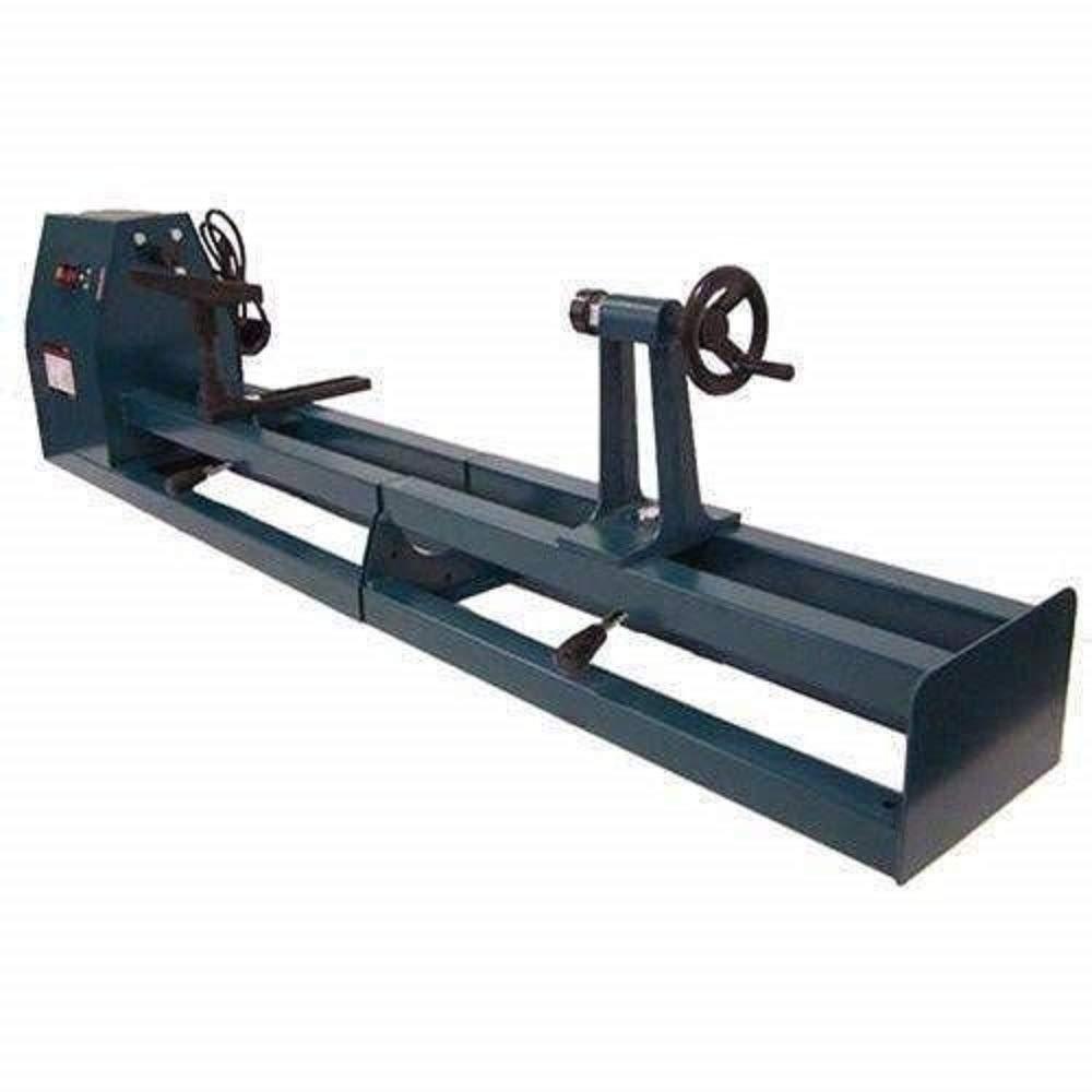 SKYUGLE 1/2 HP 40'' 375W Power Turning Wood Lathe 1000mm WoodShop with 6pc Wood Chisel Set
