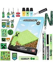 Minecraft Adventskalender 2021, Briefpapier adventskalender, geschenken