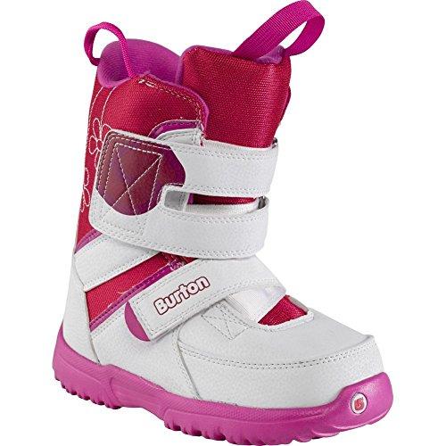 Burton Grom Boots White Pink 3 (Burton Grom Snowboard Boots)