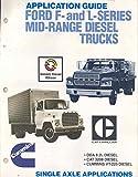 1980 Ford F&L Midrange Diesel Truck Brochure