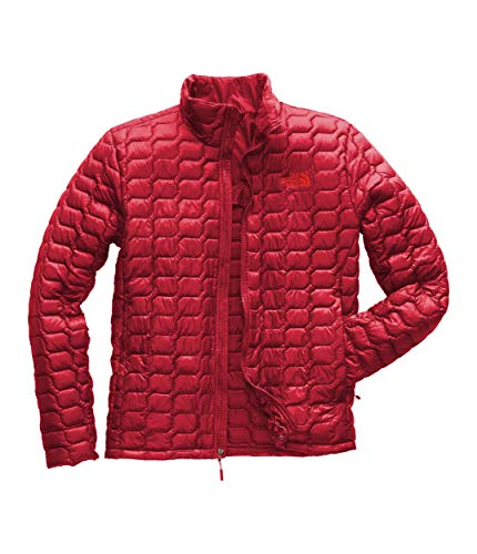 The North Face Men's Thermoball Jacket Rage Red Medium