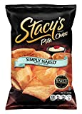 Stacy's Pita Chips, Simply Naked, 8-Ounce Bags (Pack of 12)