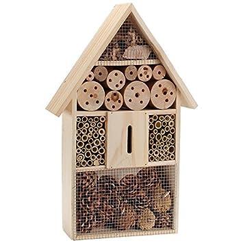 Deuba Xl Insektenhaus Insektenhotel Schmetterlingshaus Aus Holz