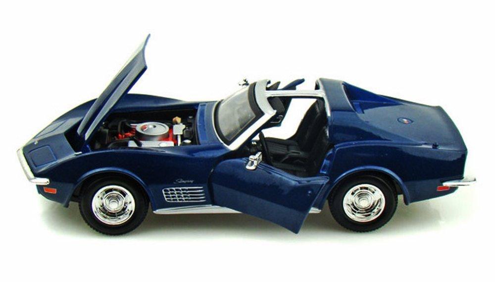 Maisto 1970 Chevy Corvette T-Top 1//24 Scale Diecast Model Car Blue SG/_B01698Y69M/_US