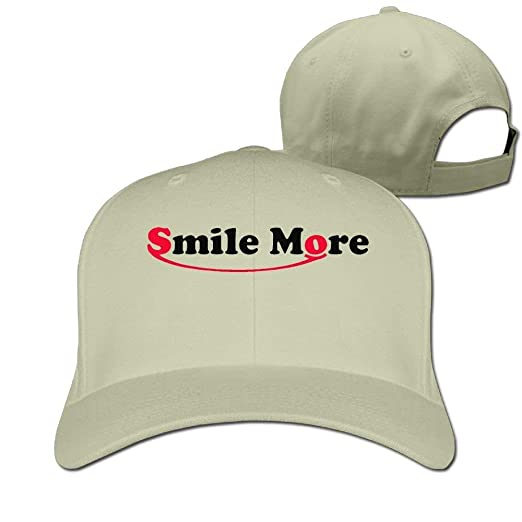 c5149debf24 Image Unavailable. Image not available for. Color  Adults Baseball Caps GA  Roman Atwood Smile More Winter Cotton Ash Fishing Hats