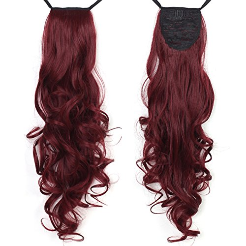Synthetic Drawstring Ponytails Hairpiece Extensions product image
