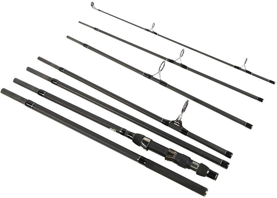 Romantic PresentEVA Comfortable Hands 3.6m Length Carp Fishing Rod Fishing Pole 7 Section for Wild Fishing Pool Lake Sea Fishing