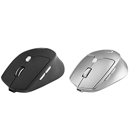 2.4G Wireless Bluetooth 4.0 Dual Mode Rechargeable Mouse 6 Buttons Game Wireless