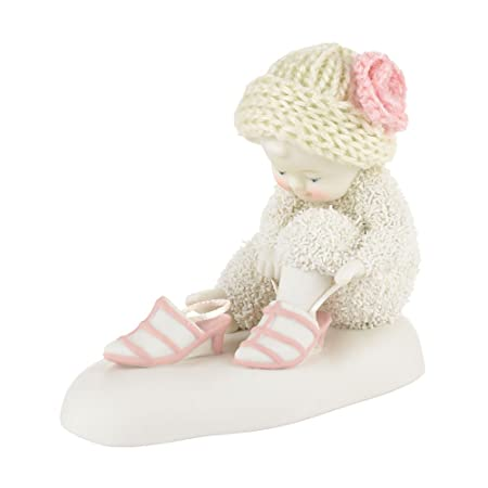 Department 56 Snowbabies Put on Your Dancing Shoes Figurine, 3.25 inch