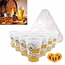 XENO-20 Cups 3 Balls 2 Racks Beer Pong Drinking Game Set Kit Bar Party Pub BBQ Gift