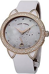 Jade Diamond Rose Gold Automatic Watch