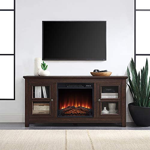 BELLEZE 50″ Wood TV Console