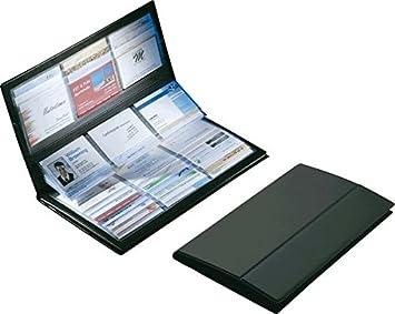 Sigel Visitenkarten Sammler Vz175 Schwarz Kunststoff