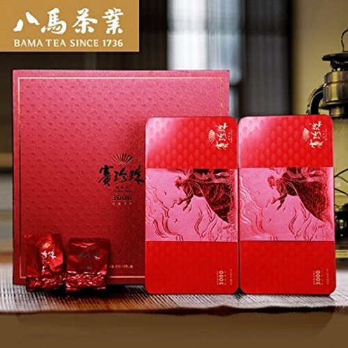 Bama tea3000 Pearl Buck aroma Tieguanyin tea Chinese Oolong tea 250g 特级浓香八马赛珍珠 by Yichang Yaxian Food LTD.