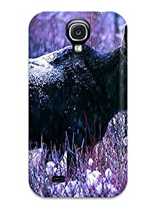 For Galaxy S4 Tpu Phone Case Cover(moose) by lolosakes