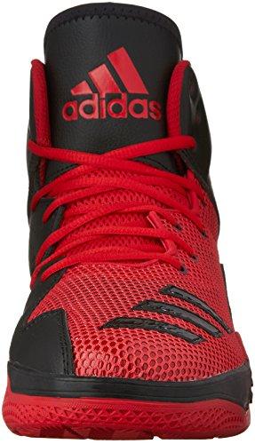 Adidas performance Uomo dt bballname metà basket scarpa scarlet / bianco