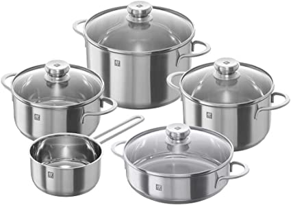 Zwilling Nova set ollas para cocina de inducción