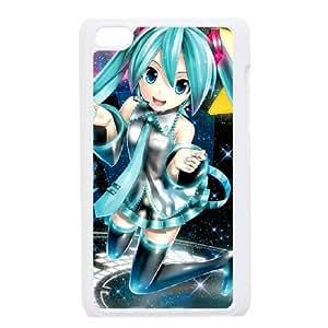 Hatsune Miku iPod Touch 4 Case White Delicate gift JIS_295314