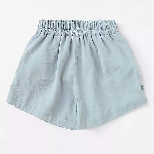 Pantalones Mujer Cortos Sexy Verano PAOLIAN Pantalones Anchos ...