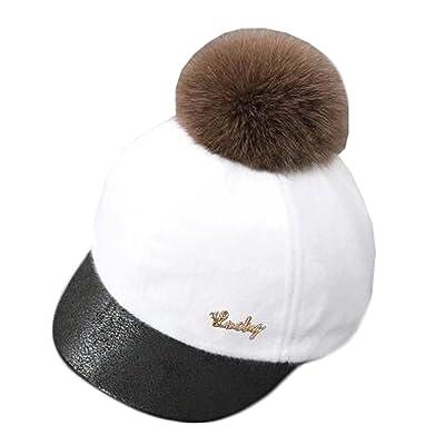 À la mode de l'hiver chaud de bébé Chapeau de baseball Cap Sun Protection Hat, L