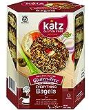 Katz Gluten Free Everything Bagels, 13 Ounce, Certified Gluten Free - Kosher - Dairy, Nut free - (Pack of 1)