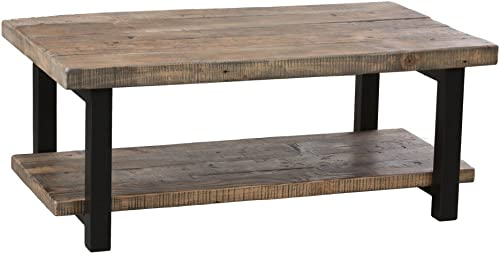 Alaterre Pomona Rustic Coffee Table –