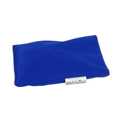 medesign Cojín Azul de semillas 12 x 16 cm, 1 pieza: Amazon ...