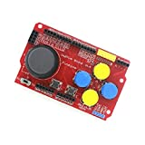 QX Electronics Integrated Circuit 5pcs/lot Joystick Shield v1.2 for Arduino Compatible