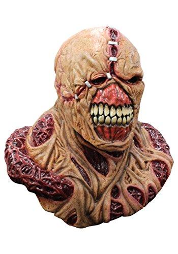 [Resident Evil: Nemesis Deluxe Mask] (Resident Evil Fancy Dress Costume)