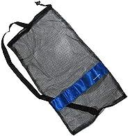 "Scuba Choice Scuba Diving Drawstring Mesh Bag with Shoulder Strap, 25"""