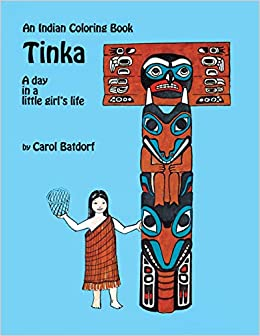 Tinka Coloring Book: A Day in a Little Girl\'s Life (Indian Coloring ...