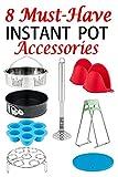 Instant Pot Accessories Set-Fits 5/6/8Qt Instant Pot Pressure Cooker, 8 Pcs Value Pack with Upgrade Steamer Basket/Egg Bites Mold/Egg Steamer Rack/7 Inch Non-stick Springform Pan,Best Gift for Family