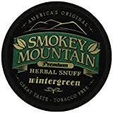 Smokey Mountain Snuff - Tobacco & Nicotine Free - Wintergreen