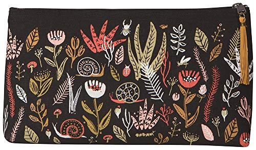 Danica Studio, Small World Design Large Linen Cosmetic Bag