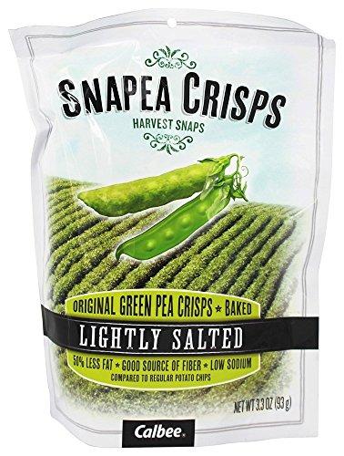 Harvest Snaps - Snapea Crisps Harvest Snaps Lightly Salted - 3.3 oz (pack of 3)